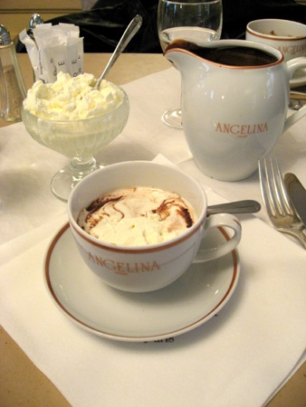 Because one day I'll sit at Angelina's in Paris and have a hot chocolate