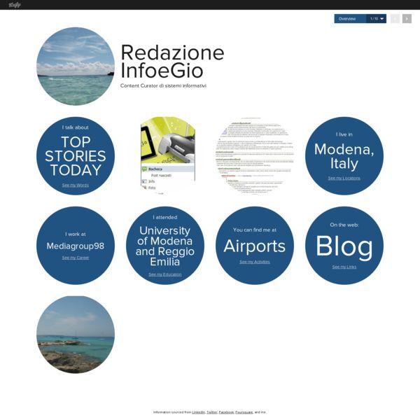 Graphical bio: Redazione InfoeGio