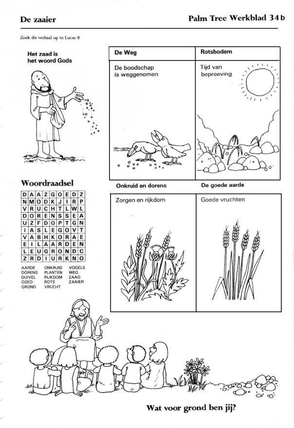 afbeeldingsresultaat voor werkblad zaaier werkbladen