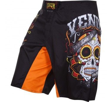 Short MMA Venum Santa Muerte 2.0 noir