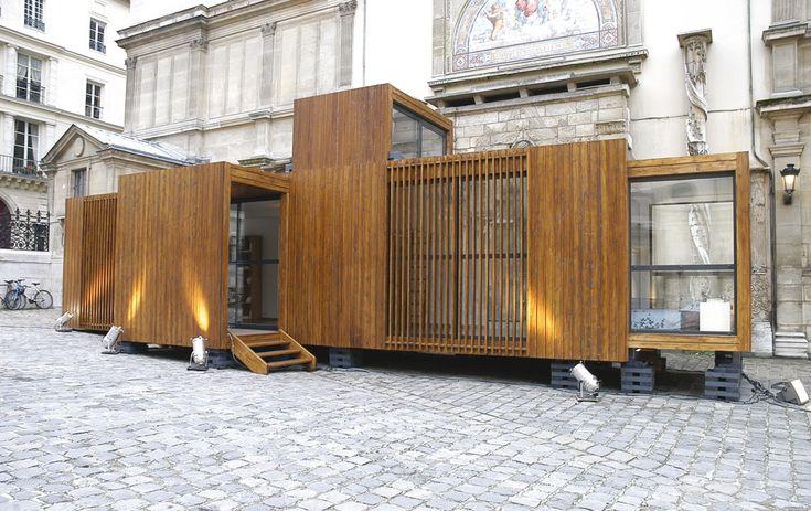 D3 architectes - the drophouse