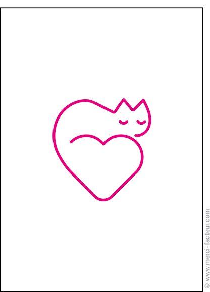 Souhaitez une joyeuse St Valentin avec une jolie carte ❤️  http://www.merci-facteur.com/cartes/rub19-amour-et-saint-valentin.html #carte #amour #StValentin #Love #fleurs #Jetaime #lundi #coeur #jetaime #iloveyou #valentinsday #flowers #amor #SanValentin Carte Un coeur un chat pour envoyer par La Poste, sur Merci-Facteur !