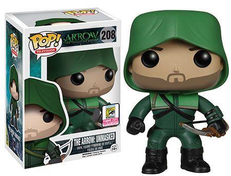 SDCC 2015 Exclusive Pop! Pop! TV: Arrow - The Arrow: Unmasked. Pretty sure this is the cutest Pop ever <3