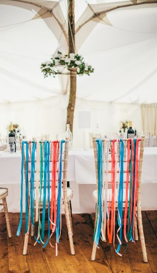 Image by Photography34 - A welsh Marquee Beach Wedding With Stephanie Allin Dress, Teal Maids and images by Photography34