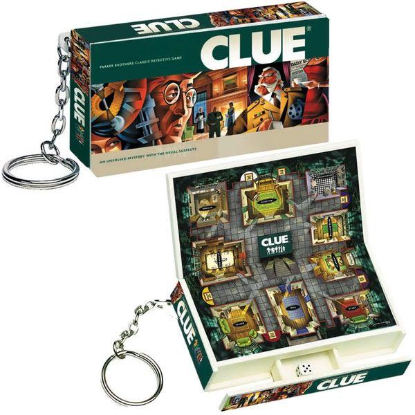 Clue Game Keychain