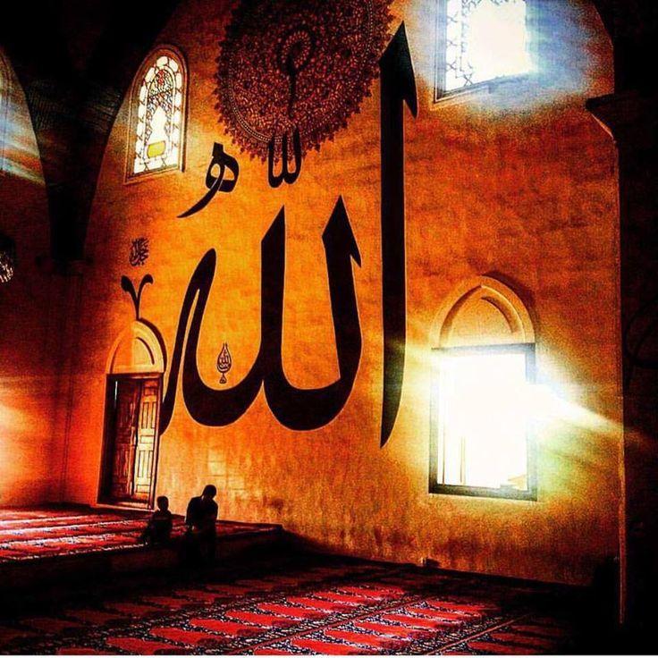 """""""Doksan Dokuz adın hürmetine;  İçimizden geçenleri bize nasip et."""" Allahım ..."""