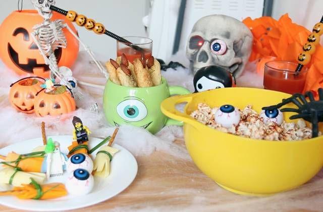 Un buffet Halloween, c'est le thème du nouvel épisode de Toque Chef ! Margaux a sorti son plus beau chapeau de sorcière pour l'occasion !