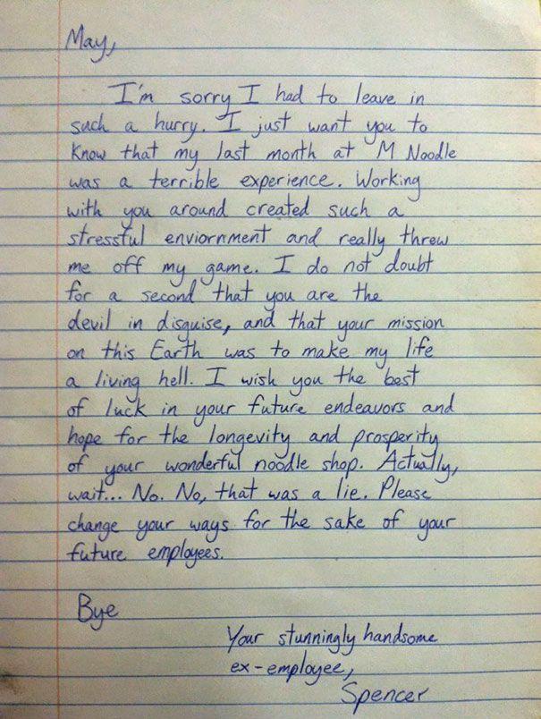 The  Best Resignation Letter Ideas On   Letter For
