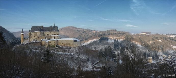 Visit to Vianden Castle