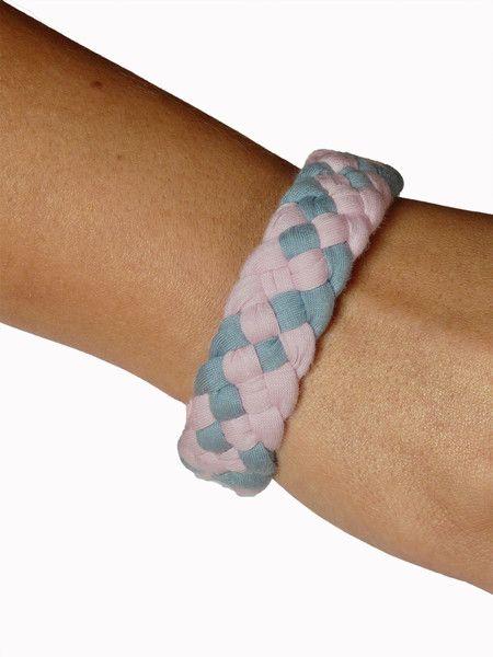 Bracelets – Funny ME Powder & Airy Blue bracelet – a unique product by mebyhand on DaWanda