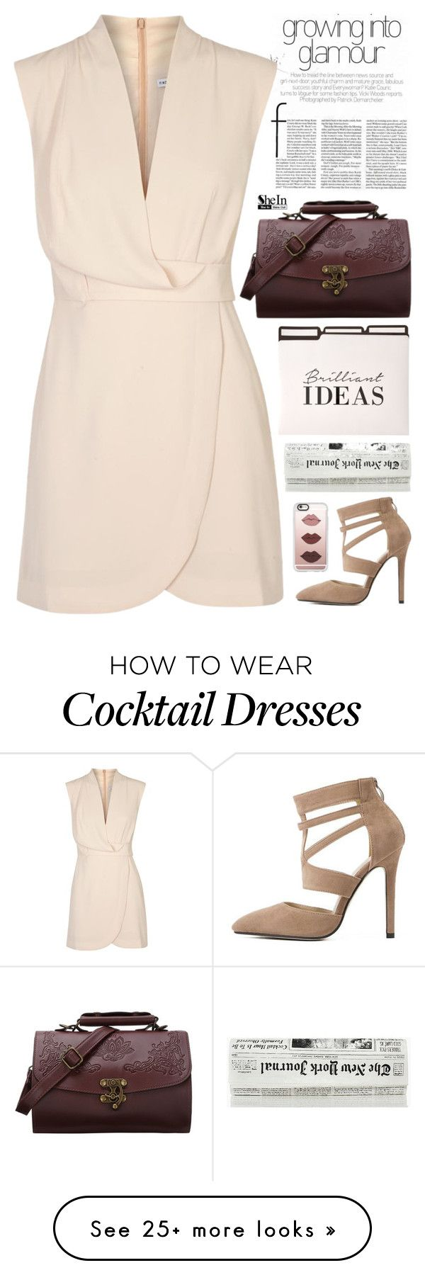 """""""grow into glamour"""" by scarlett-morwenna on Polyvore featuring Casetify, Finders Keepers and vintage"""