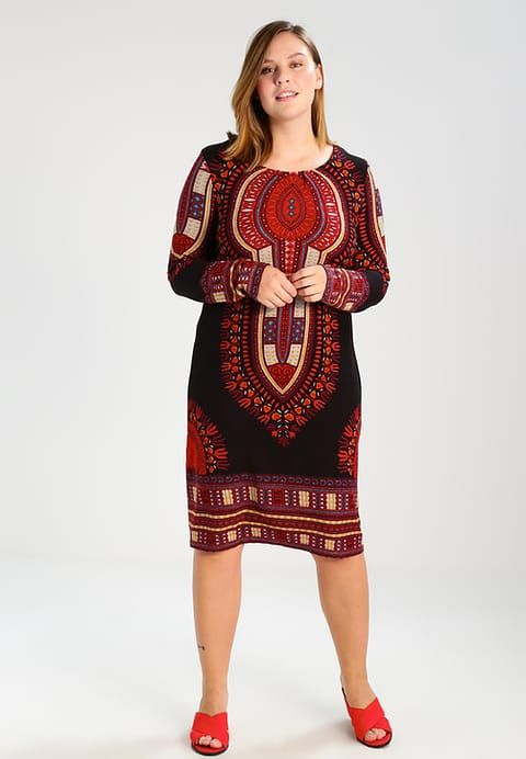 Kleding Anna Field Curvy Gebreide jurk - black/red Zwart: € 39,95 Bij Zalando (op 31-8-17). Gratis bezorging & retour, snelle levering en veilig betalen!