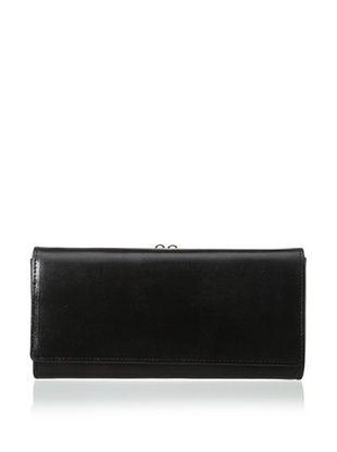 57% OFF Tusk Women's Framed Clutch Wallet, Black