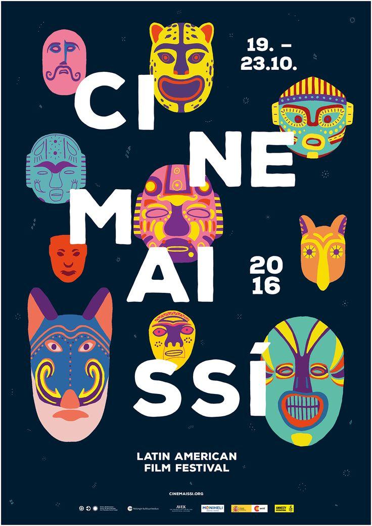 Cinemaissí – Latin American Film Festival 2016 on Behance