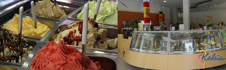 En Kalúa de Madrid o Málaga, te esperan más de 40 sabores de helados artesanales elaborados a diario...Ven a descubrirlos!!!