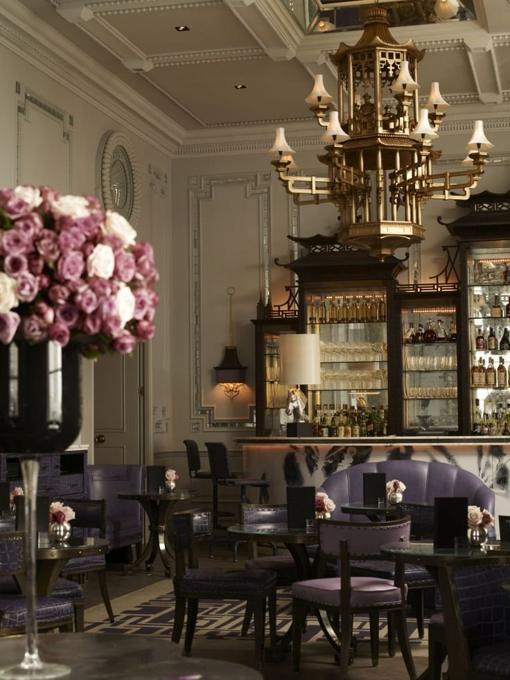 Artesian Bar at The Langham by David Collins, via Hotel Chic