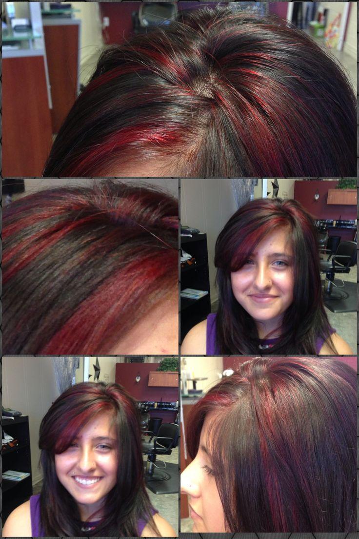 Red And Black Hair Color Redken 6rr Redken Color