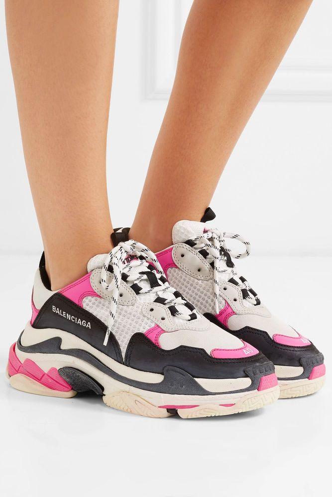 NIB Famous BALENCIAGA Triple S Sneakers