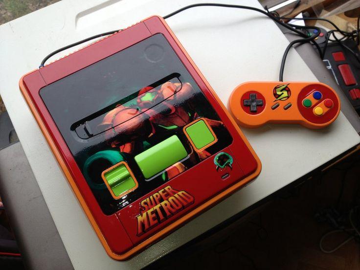 Custom Super Metroid Snes by Hananas-nl.deviantart.com on @deviantART