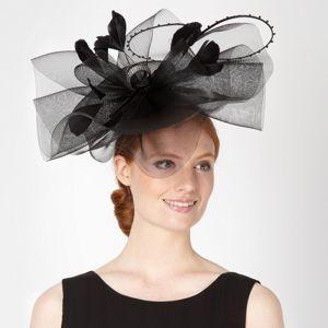 Star by Julien Macdonald Designer black beaded loop hair piece- at Debenhams Mobile