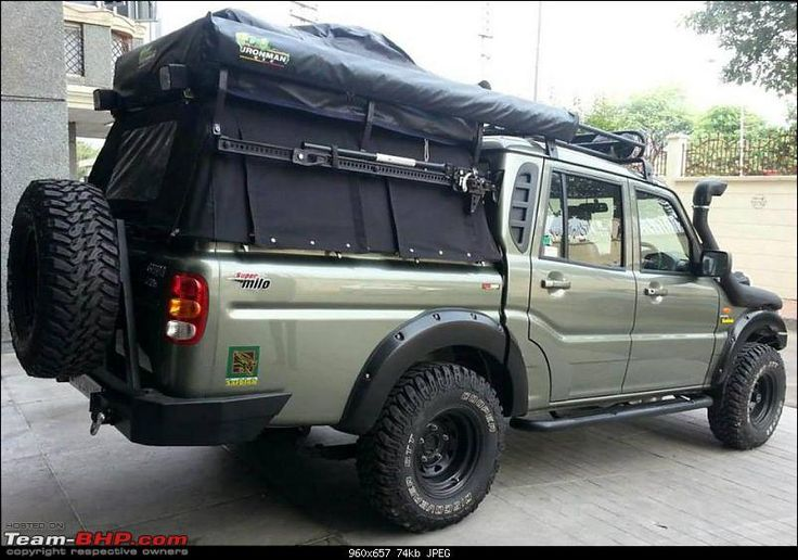 Interesting Modified Scorpio Getaway for Indian Actress Gul Panag