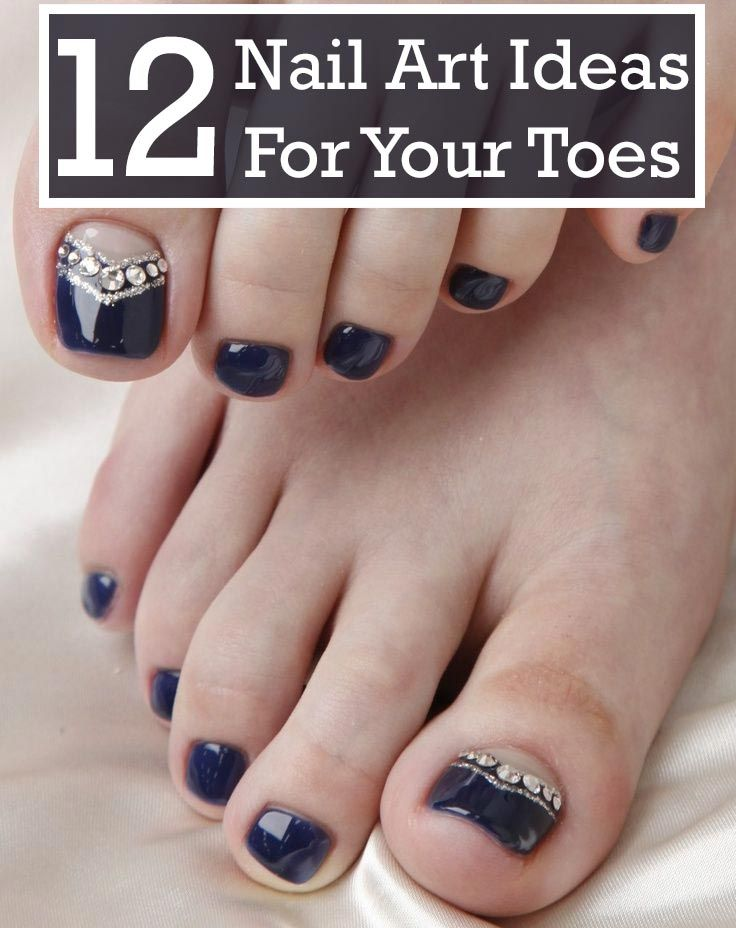 Nail art on toes look very pretty and chic, like the way they do on the hands. The procedure of doing designs of nail art on toes is almost same as on the hands.