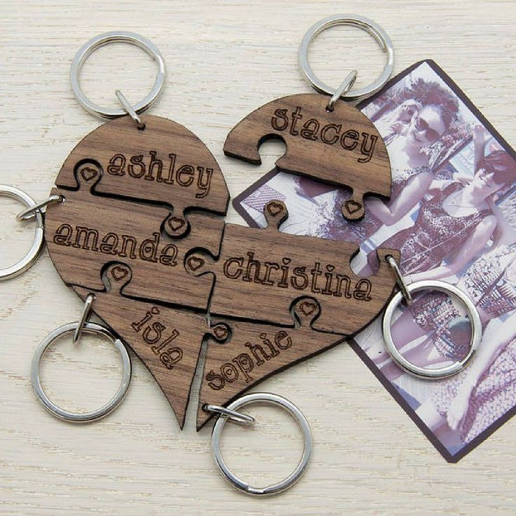 Looking for the perfect #gift for your #bridesmaids? We have a huge selection of thoughtful personalised presents. #giftforfriend #giftshop #personalisedgifts #giftsforher #keyring #bride #bridesmaidgift #wedding