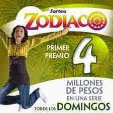 México: La Lotería nacional para la Asistencia Publica celebro el sorteo Zodiaco Nº 1226 del domingo 5 de Octubre 2014- Resultados sorteo Zodiaco Nº 1226 del domingo 5/10/14. Escorpión-9753-Premio Mayor-Vendido: Tampico Tamaulipas
