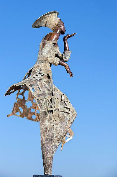 To you too | Rieke van der Stoep Bronze  90 cm