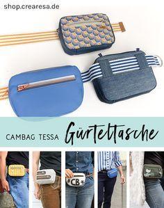 Cambag Tessa Gürteltasche – Schnittmuster