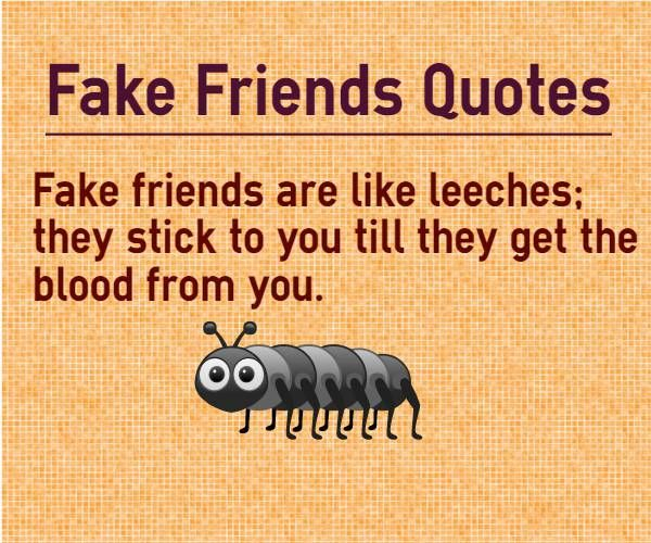 Fake Friends Are Worse Than Real Enemies. - Home | Facebook