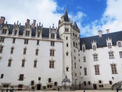 The #castle of the Dukes of #Brittany is situated in #Nantes, the capital of the historic Duchy of Brittany which was attached to the Kingdom of #France in 1532