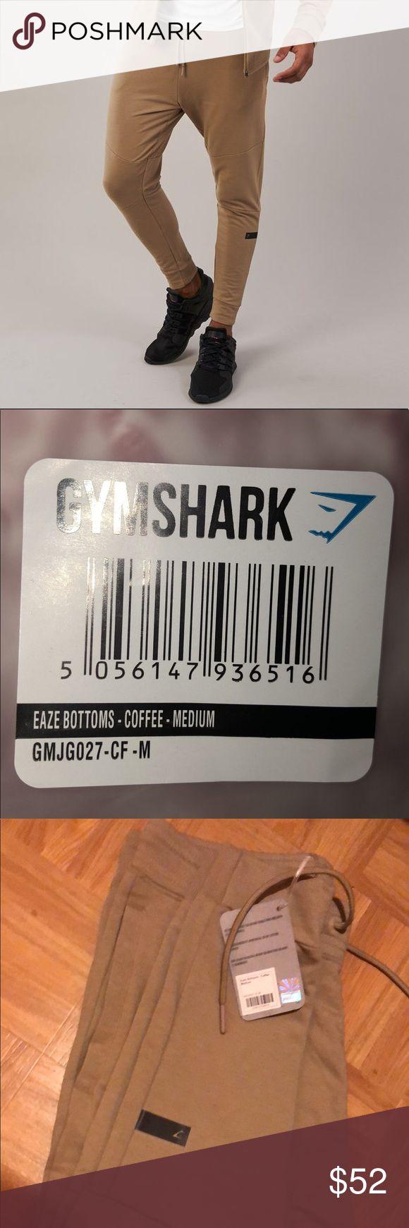 Gymshark Eaze Bottoms Coffee color Eaze Bottoms from Gymshark Size Medium Brand New - Have tags  Tags: Gymshark, Alphalete Pants Sweatpants & Joggers