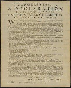 Deklarace nezávislosti jedním z nejzásadnějších dokumentů Spojených států amerických. 13 kolonií tak deklarovalo svou nezávislost na Velké Británii. K ratifikaci deklarace došlo 4. července 1776, kdy byla přijata Kongresem. #declaration #usa #congress