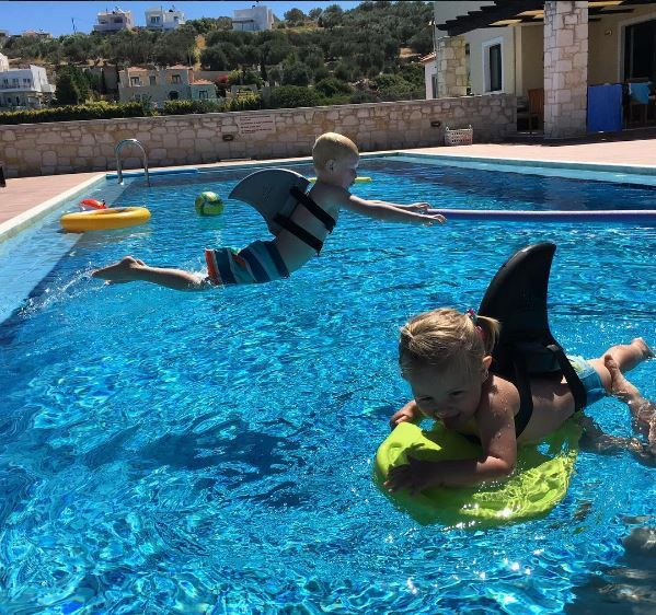 Perfect for little swimers, swimfin is the coolest way to swim safely!