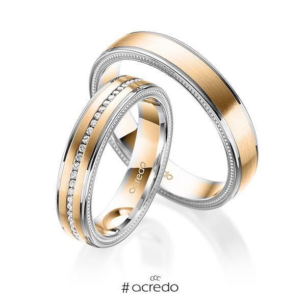 alianzas de boda con oro rosa. opciones en oro, oro blanco, platino