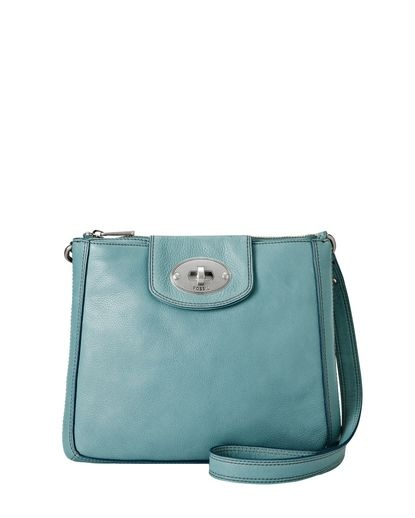 Marlow Cross-Body Bag - Aqua