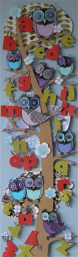 owly alphabet
