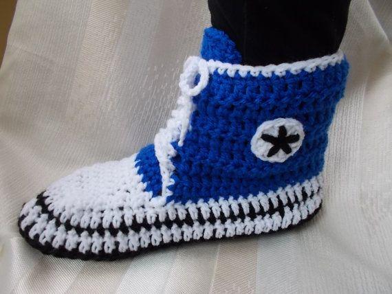 Converse Slippers Men Converse Slippers Booties crochet