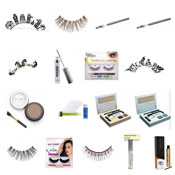 Wimpern in Hülle und Fülle! Außerdem Augenbrauen Make-Up, Wimpernseren & vieles mehr!