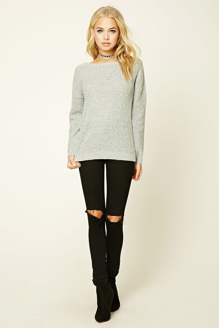 Cutout Sweater - Sale - Sale - 2000201163 - Forever 21 EU English
