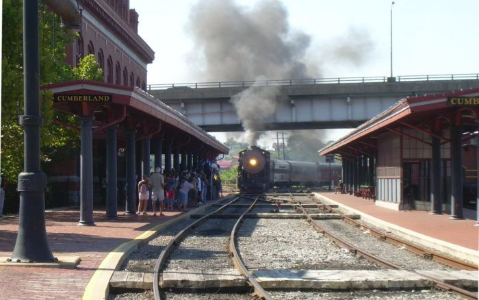 Or take a ride on the Western Maryland Scenic Railroad.
