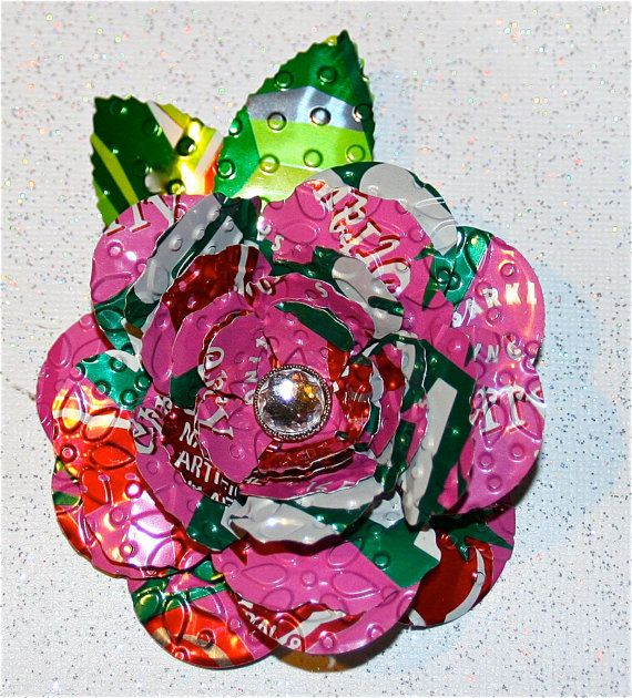 1000 ideas about tin flowers on pinterest tin can for Large tin can crafts