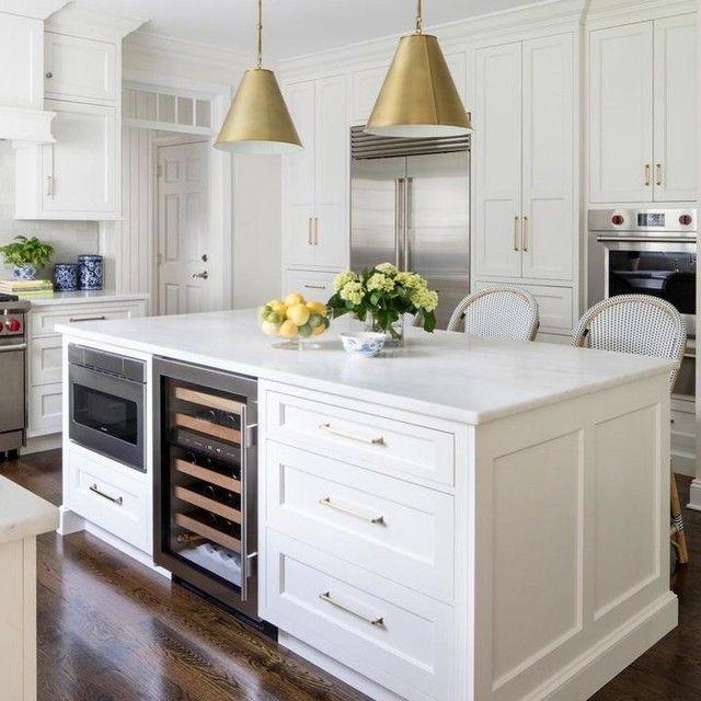Goodman Small Hanging Light In 2021 Kitchen Island Without Seating Kitchen Wine Fridge Kitchen Renovation