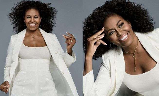 Look At First Lady Michelle Obama Rocks Her Natural Curly Hair On The Cover Of Essence Natural Hair Styles Hair Twist Styles Hair Life
