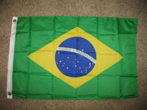 2x3 Brazilian Flag