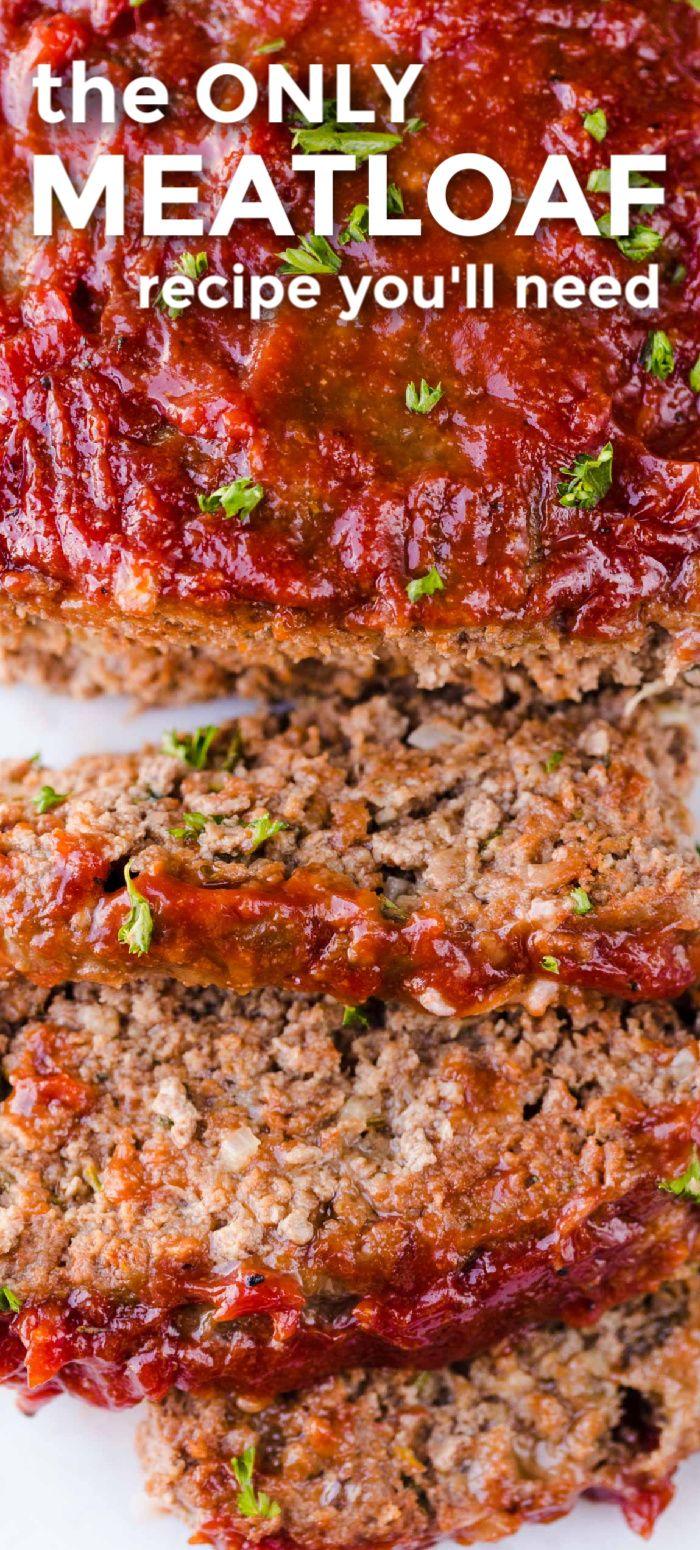 The Best Meatloaf Recipe I Ve Ever Tried In 2020 Good Meatloaf Recipe Best Easy Meatloaf Recipe Classic Meatloaf Recipe