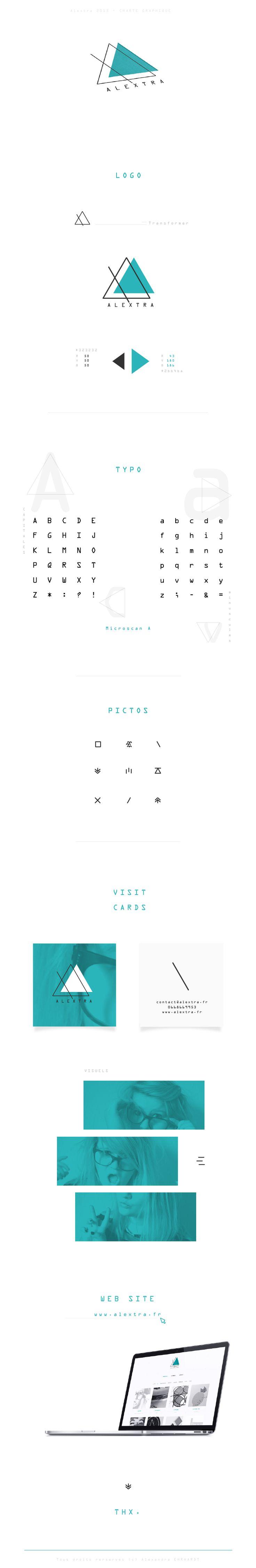 Alextra / Graphic Designer Grenoble - France  Graphist - Graphism - Design - Visual Identity - Identité visuelle - Logotype - Logo - Infographie - Visit Card - Web Site