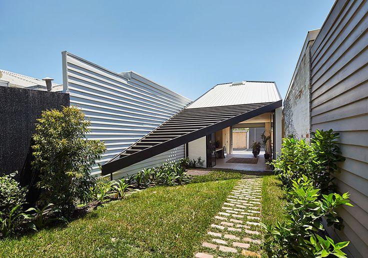 architecture architecture's kite addition explores the use of the triangle