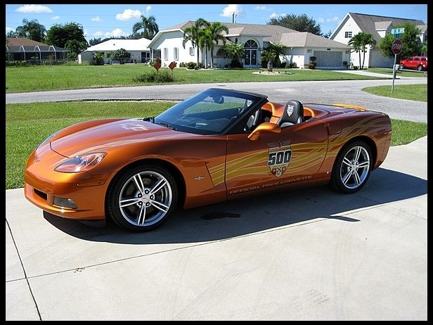 2007 Chevrolet Corvette Pace Car Edition Convertible, 516 Actual Miles